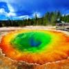 3 ayrı eyalete yayılmış şekilde bulunan dünyaca ünlü Yellowstone Milli Parkı da ABD'deki termal tesislerin bulunduğu noktalardan bir tanesi.