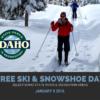 Karlar birikmeye başladığında Idaho Department of Parks and Recreation yıllık kayak ve raketle yürüme aktivitesini gerçekleştirir. Bu etkinlik İskandinav kayağını ve karda yürüyüşünü öğrenmek için en ideal yollardan biridir. Her Ocak ayı, Idaho'da rota bulmanın ve kaymanın teknikleri ücretsiz öğretilir.