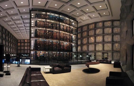 8. Beinecke Nadir Kitaplar Kütüphanesi (Yale University, ABD)