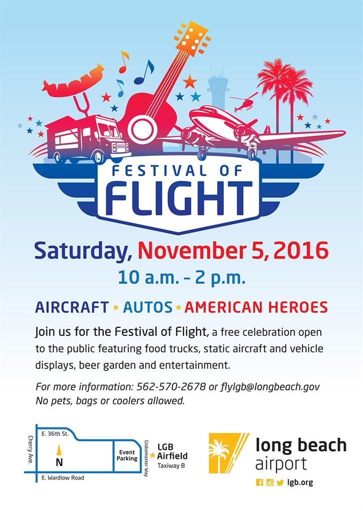 Uçaklara Daha Yakından Bakın! | Los Angeles Uçuş Festivali 5 Kasım'da [Ücretsiz Etkinlik]