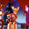 Kırımızı Burunlu Ren Geyiği Rudolph ise çocuklar için mutlaka görülmesi gereken gösterilerden. 1964 yılında gösterime giren aynı isimli animasyon filmden uyarlanan gösteri, ünlü Madison Square Garden'da yer alan tiyatro sahnesinde sergileniyor. Canlı performansın yanında kuklaların da eşlik ettiği oyun için bilet fiyatları $39 - $129 aralığında. Web-sitesi: http://www.rudolphthemusical.com
