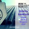 dünya bankası yaz staj programı maaşlı 2017
