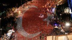 15 Temmuz etkinlikleri dünya basınına damga vurdu