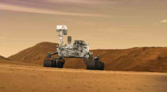Curiosity Mars'ın Bulutlu Görüntülerini Yakaladı