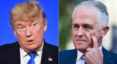 Trump'tan Turnbull'a: Benden daha kötüsün