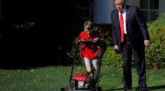 Beyaz Saray`da çalışan 11 yaşındaki bahçıvan