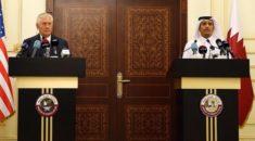 ABD Dışişleri Bakanı Tillerson Katar Emiri Al Sani ile görüştü