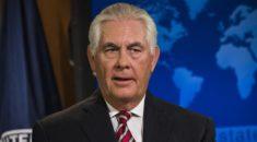 ABD Dışişleri Bakanı Tillerson'dan skandal tebrik!