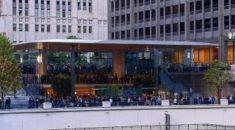 Apple çatısı 'MacBook' şeklinde olan mağaza açtı
