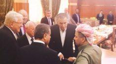 Son dakika: ABD ile İsrail kurdu! Barzani destek verdi