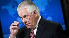 Tillerson: İlk bombalar düşene kadar diplomatik çabalar sürecek