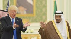 ABD Başkanı Trump'tan Suudi Arabistan Kralı Selman'a destek