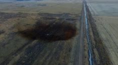 ABD'de dev sızıntı havadan göründü! Şok fotoğraflar...