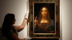 Da Vinci'nin 'Dünyanın Kurtarıcısı' tablosu 450 milyon dolara satıldı