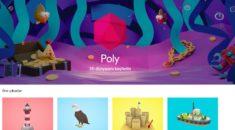 Google'dan tasarımcılar için 3D görsel kütüphane: Poly