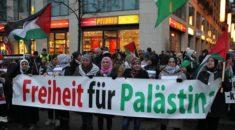 ABD'nin Kudüs kararı Berlin'de protesto edildi
