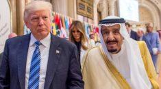 Kral Selman ile Trump telefonda görüştü