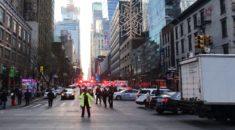 Manhattan'da otobüs terminalinde patlama