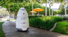 San Francisco sokaklarını güvenlik robotu korumaya çalışıyor