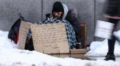 ABD'de 550 bin evsiz kış şartlarıyla mücadele ediyor