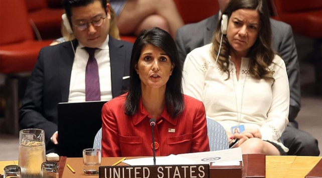 ABD'nin BM Büyükelçisi Haley: Suriye'den ayrılmayacağız
