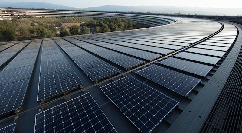 Apple'ın tüm tesisleri artık yüzde 100 yenilenebilir enerji ile çalışıyor