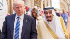 Suudi Kral Selman ile Trump telefonda görüştü