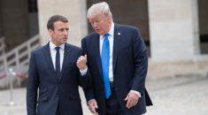 Trump ve Macron telefonda Suriye'yi görüştü