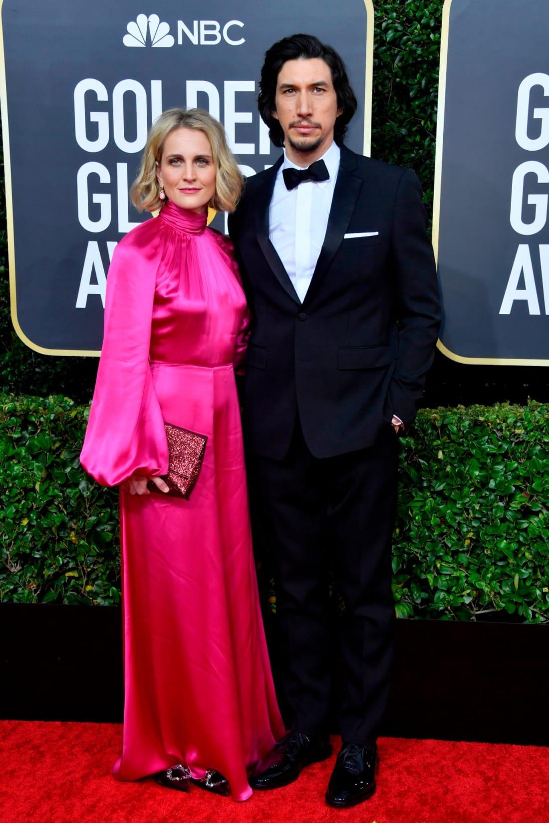 Adam Driver ve Joanne Tucker