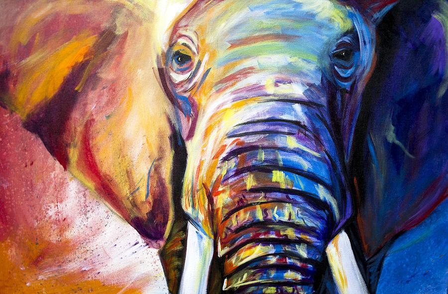 Masterpiece Yağlı Boya – Filler